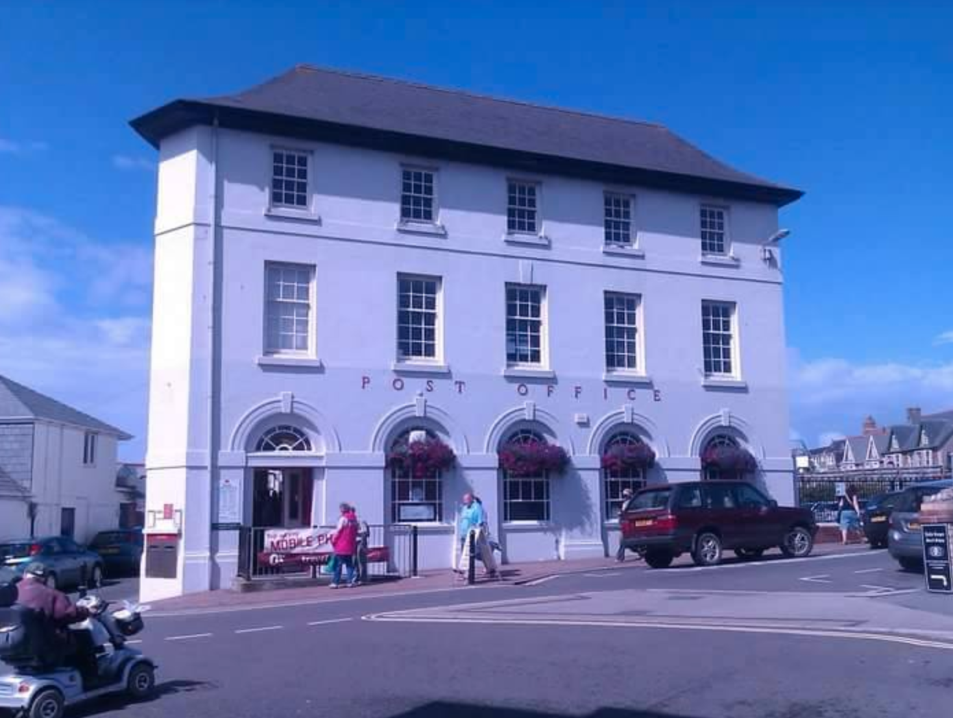 Above: Bude Post Office is a hub of the community.