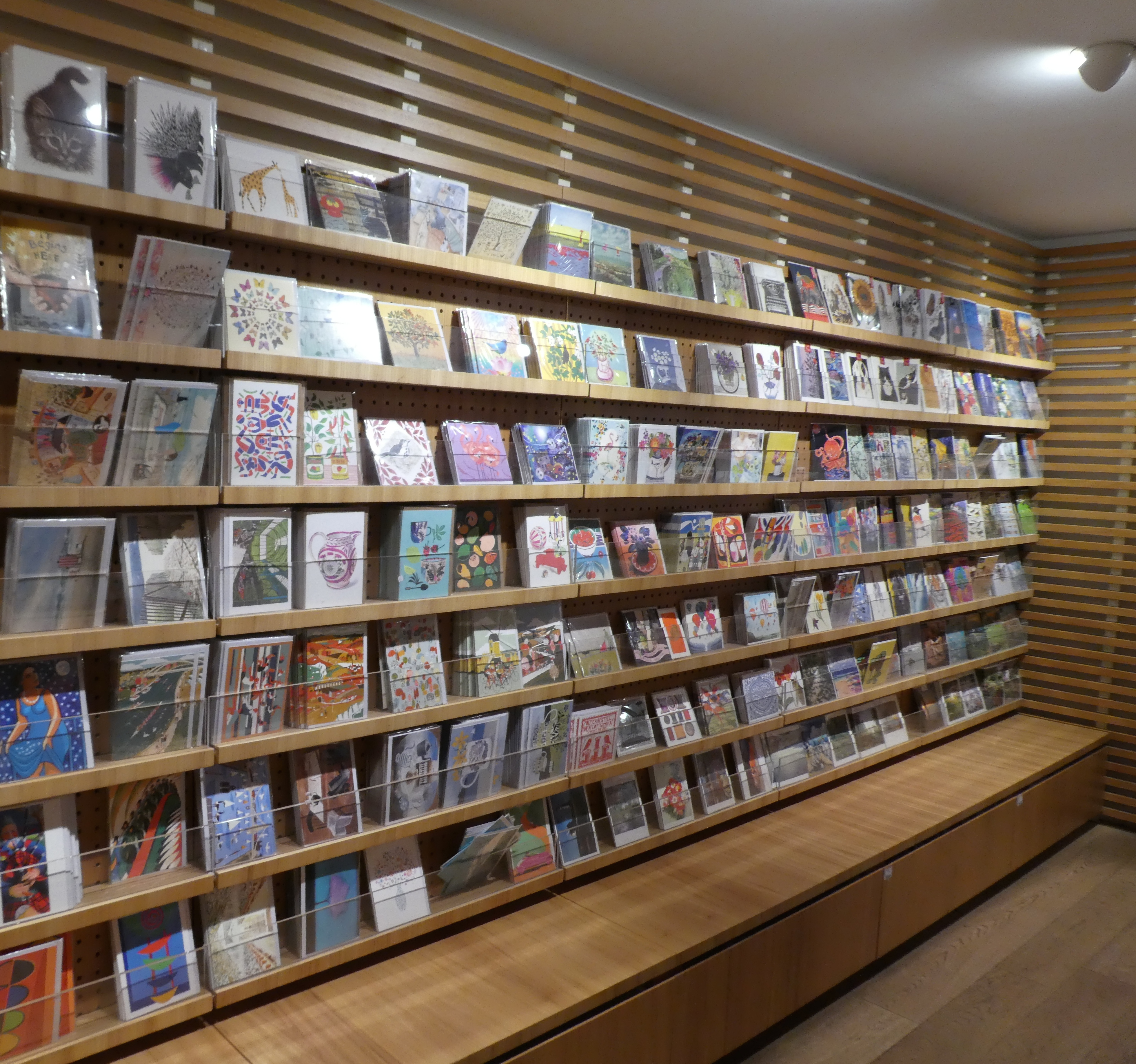 Above: Blank and art cards account for around 35% of Waterstones' total sales across the 282 store estate.