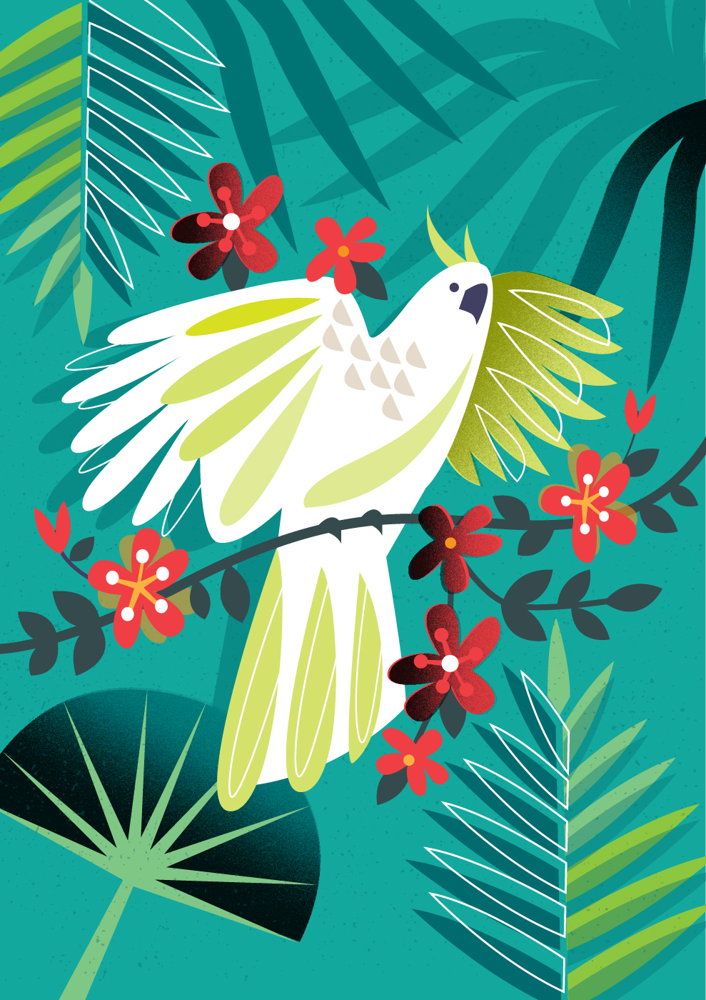 Above: Beautiful and precious, our wildlife. An illustration created by Amanda Shufflebotham, courtesy of Advocate Art.