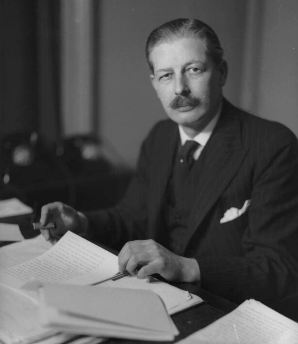 Above: Former PM Harold Macmillan.