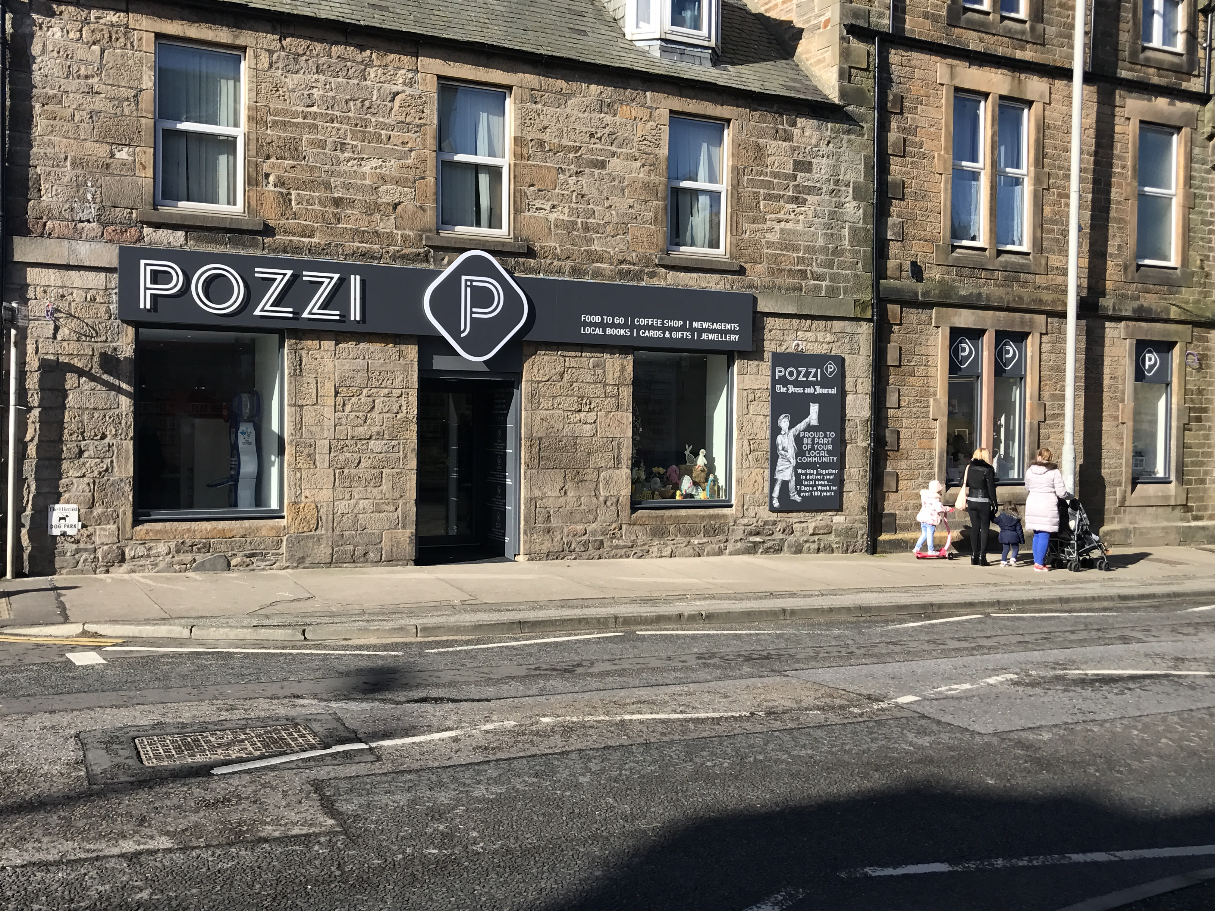 Above: JP Pozzi has been part of the Buckie community for 30 years.