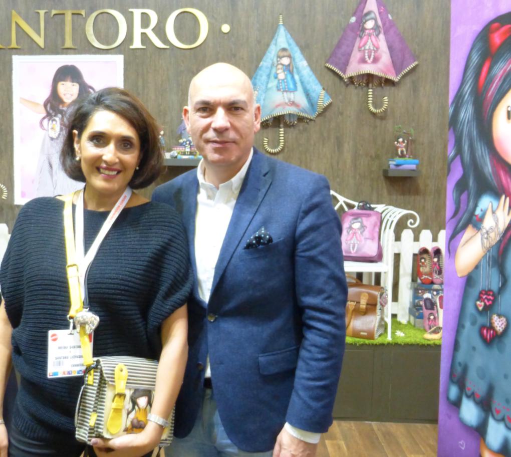 Above: Meera and Lucio Santoro, the co-founders of Santoro.