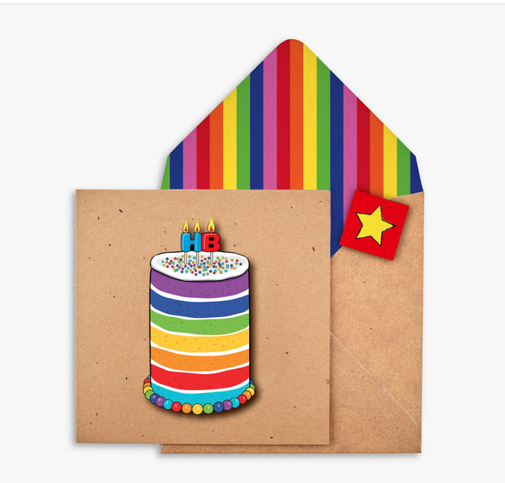 Above: Demand has outstripped supply of this Tache card on the JL&P website.
