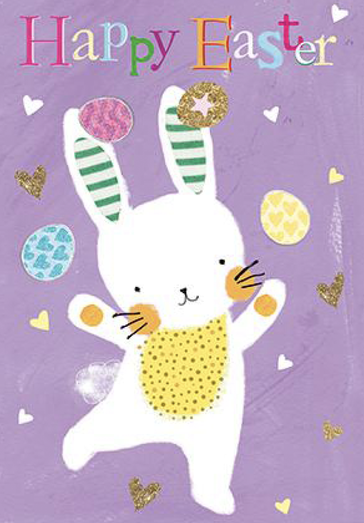 Above: An Easter design from Nigel Quiney.