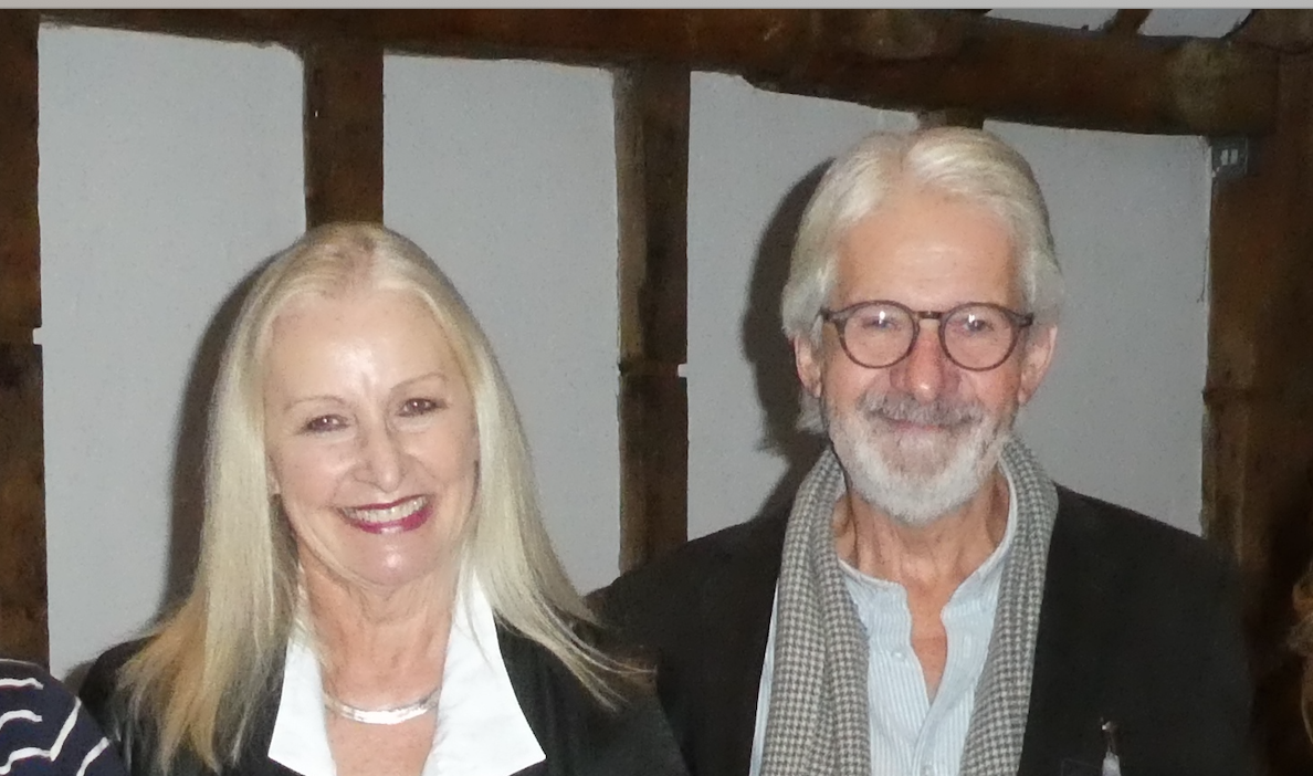 Above: John and Jennie Procter, co-founders and co-owners of Scribbler.