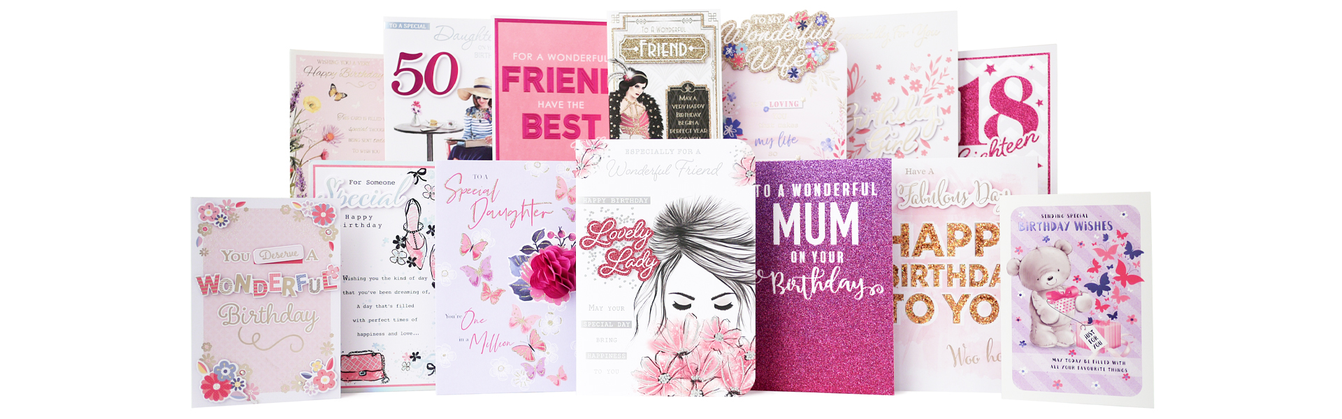 Above: One of the many exclusive card ranges created by Budget's in-house design studio, based at its Manchester HQ.