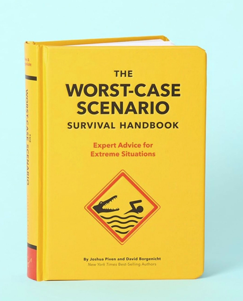 Above: Scribbler owners are braced for a 40-60% dip in revenue in the initial stage of re-opening. Scribbler is promoting the Worst Case Scenario book on its Instagram feed.