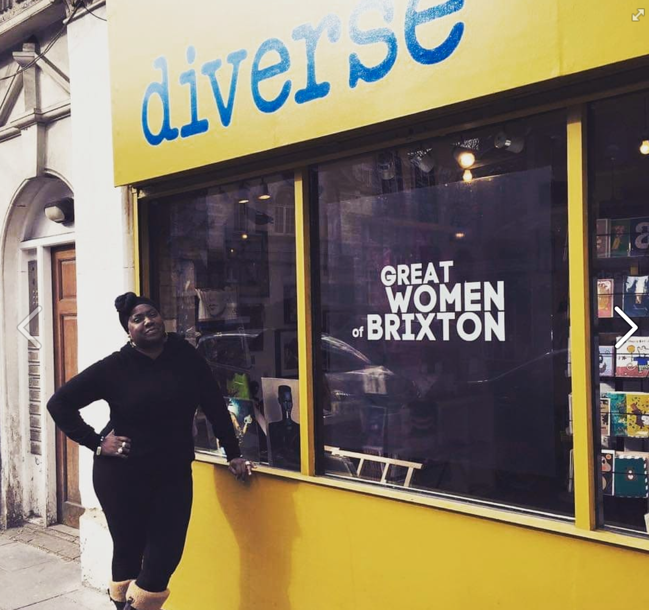 Above: Georgina pays tribute to Retas-finalist, Diverse, an independent card and gift shop in London, owned by Anita Thorpe for its diverse offering of beautiful products that reflects multi-culturalism.