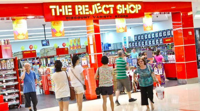 Above: Card Factory's distribution to all shops in The Reject Shop estate in Australia is a signal of the retail group's global aspirations.
