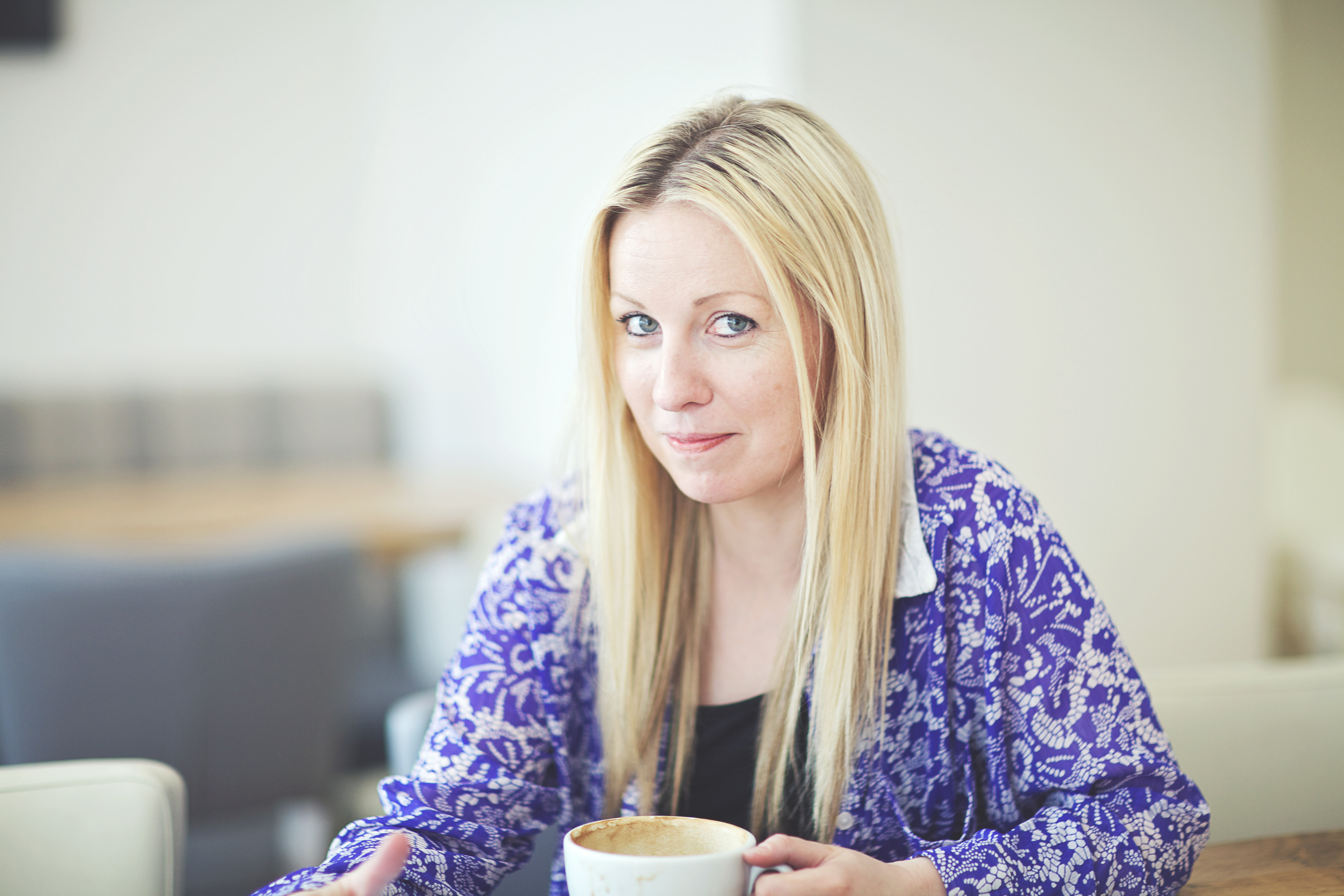Above: Clare White, co-founder of Caladoodles in Carshalton.