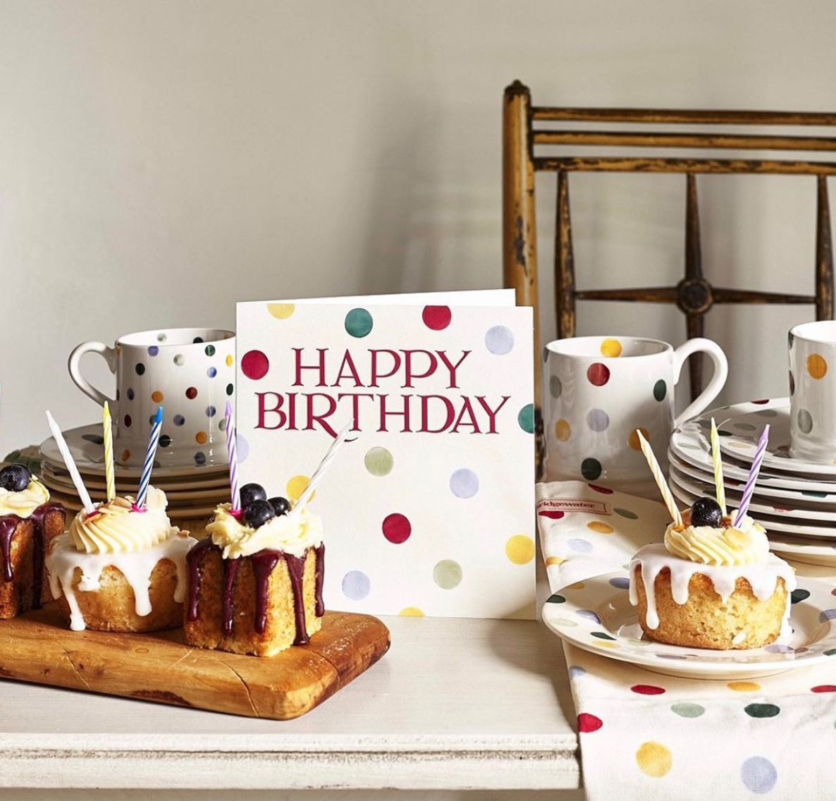 Above: The following of the Emma Bridgewater brand makes the card range from Woodmansterne a popular seller for Cats Whiskers' online customers.