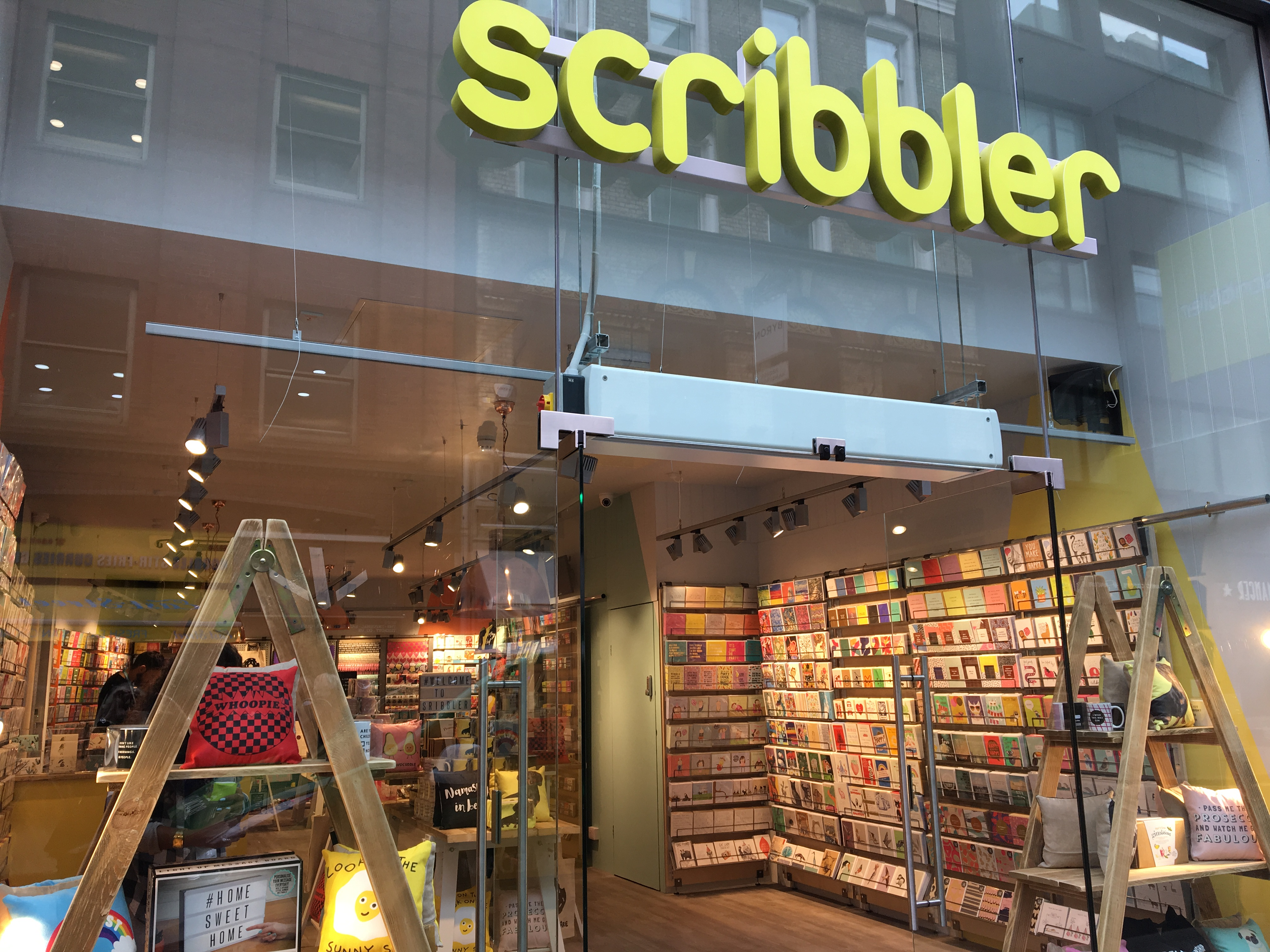 Above: Scribbler is actively improving how diversity is reflected in its shops and online.