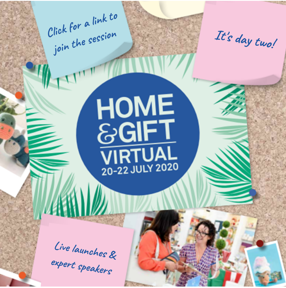 Above: Home & Gift's virtual incarnation is underway now.