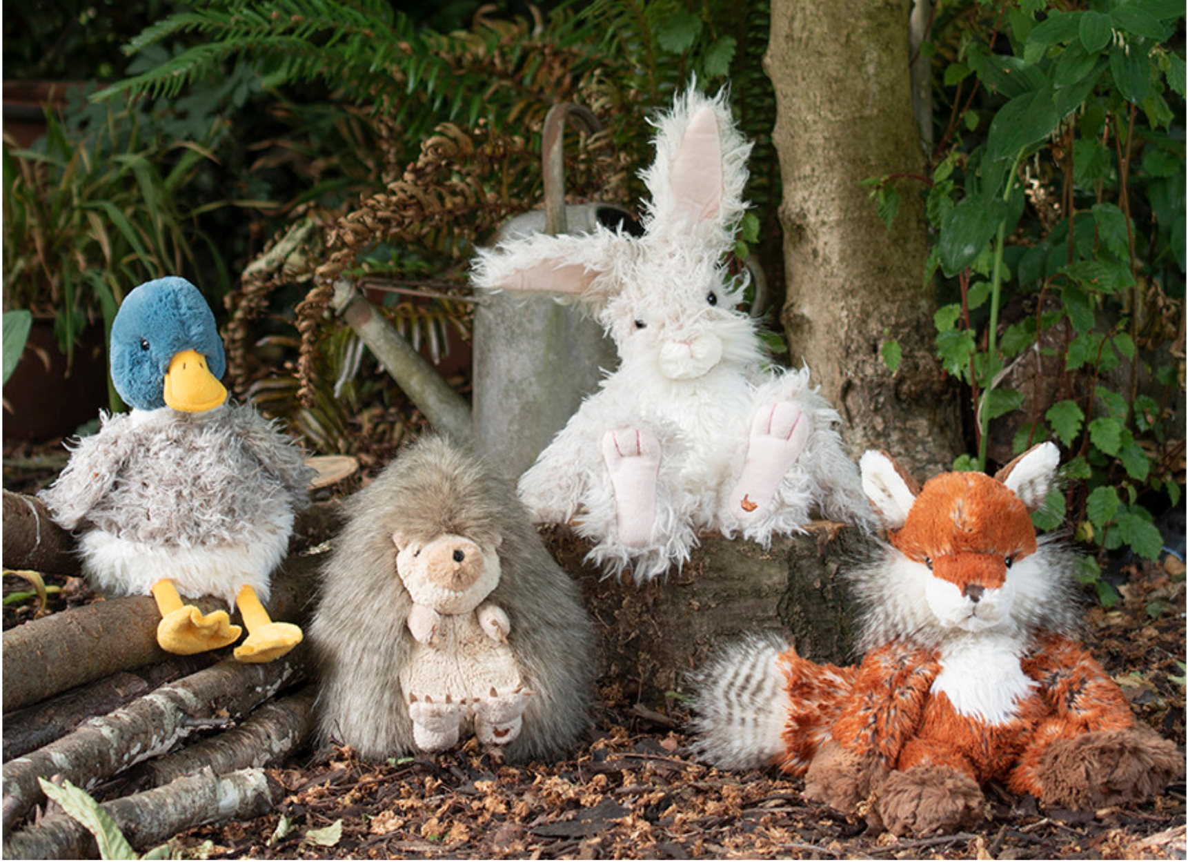 Above: Tomorrow (Wednesday July 23) sees the launch of Wrendale's new Country Set plush at Home & Gift Virtual.