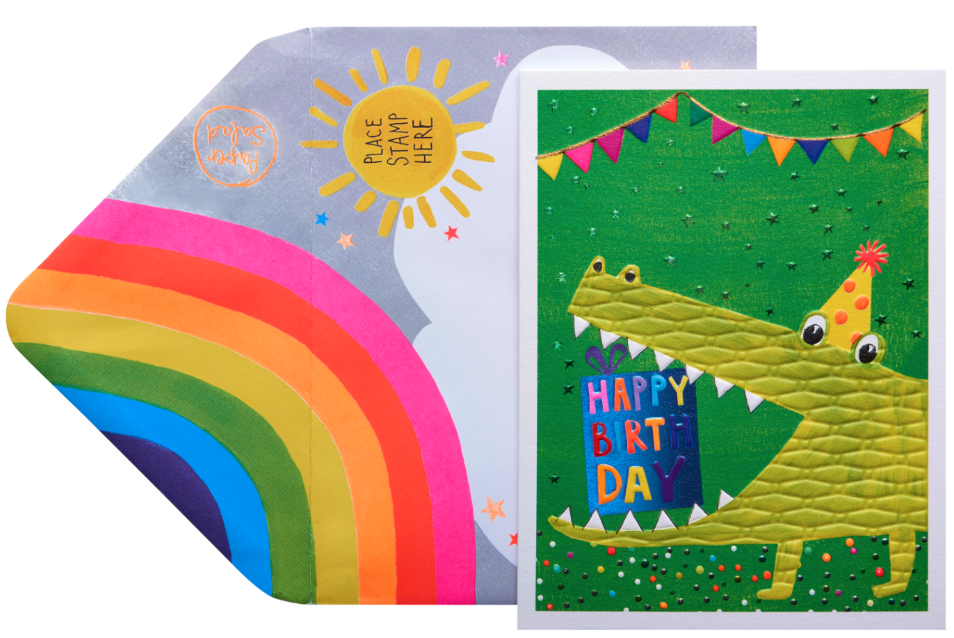 Above: Paper Salad's Jamboree design won the Children's Card award.