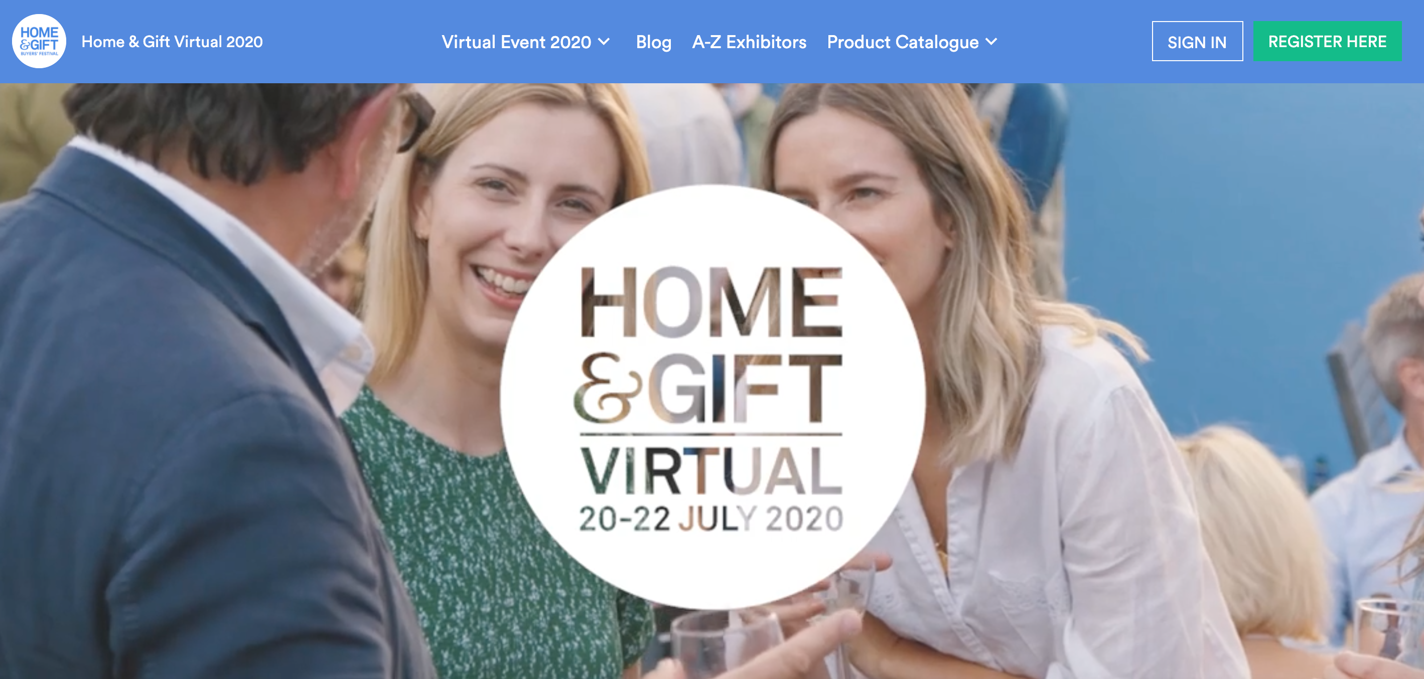 Above: Home & Gift Virtual will involve lots of talks and presentations over three days next week.