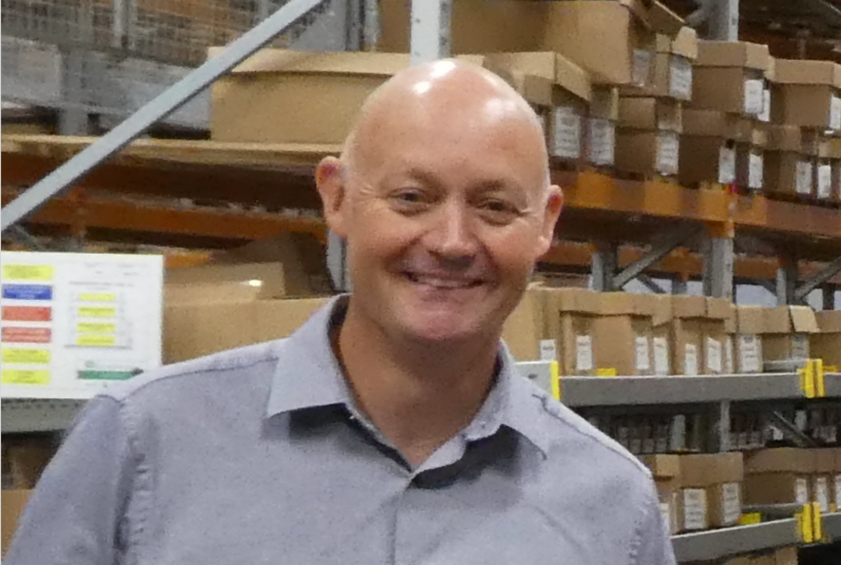 Above: Andy Kemmett has joined GBCC as operations manager.