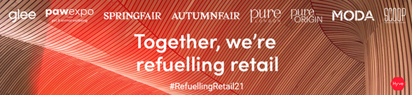 Above: Refuelling Retail is the message for Spring Fair 2021.