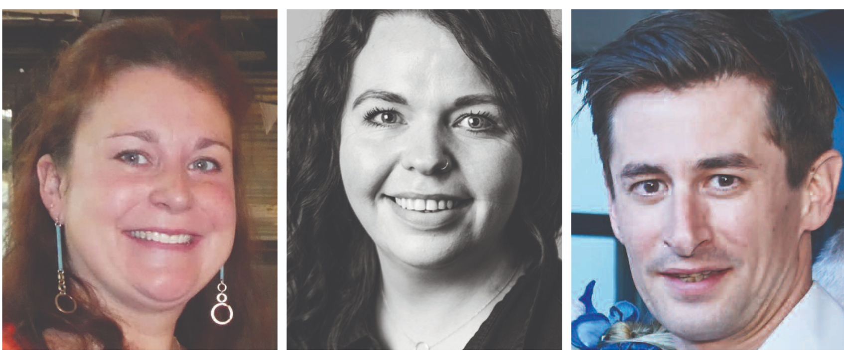 Above: (left-right) Sarah Moughtin (John Lewis and Waitrose), Steph Lloyd (Utility) and Mark Janson-Smith (Postmark) are among the judges for The Henries 2020.