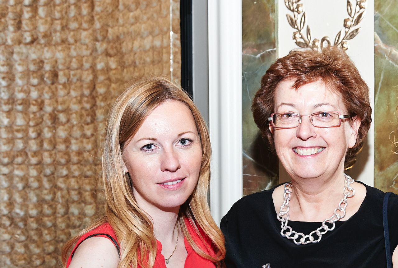 Above: Liz Killick (right) and her daughter and business partner, Clare White.