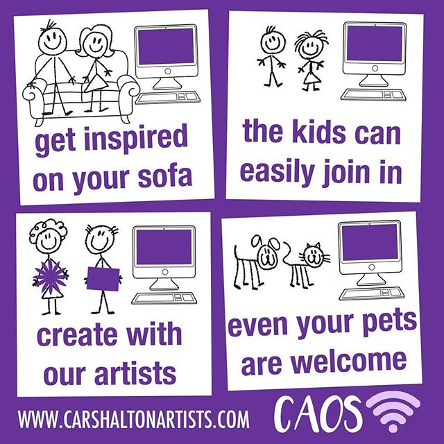 Above: The CAOS activity was successful in involving the local community.