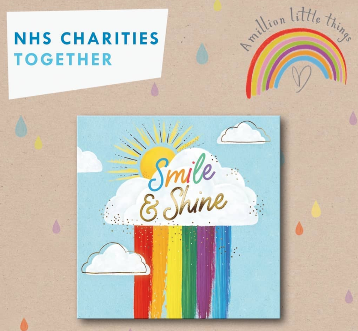 Above: A Million Little Things range is to raise funds for NHS Charities Together.