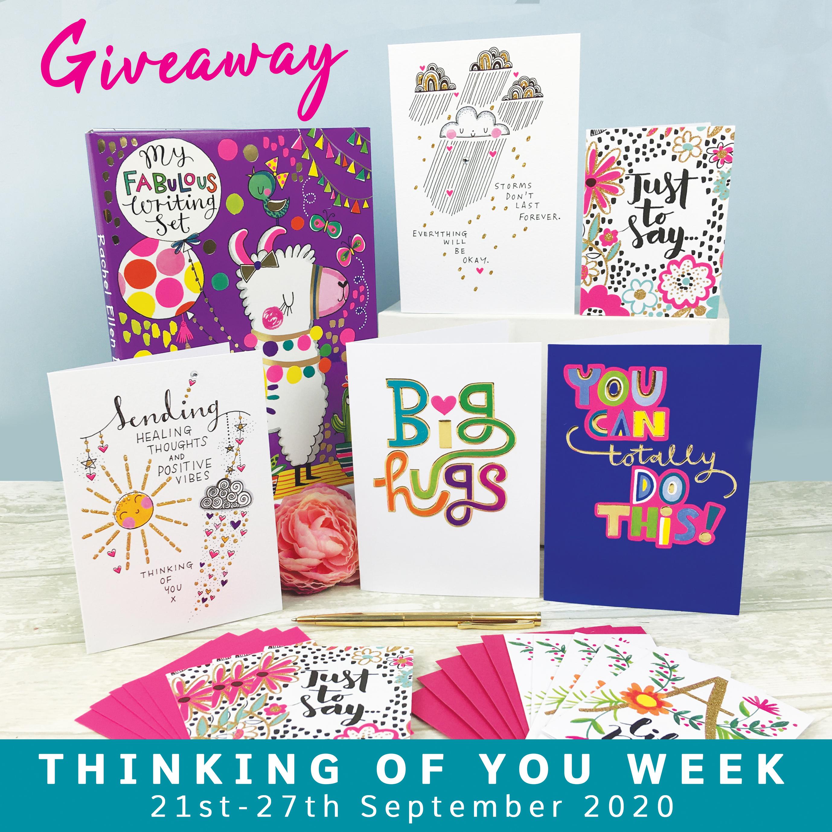 Above: The Rachel Ellen Designs giveaway bundle.
