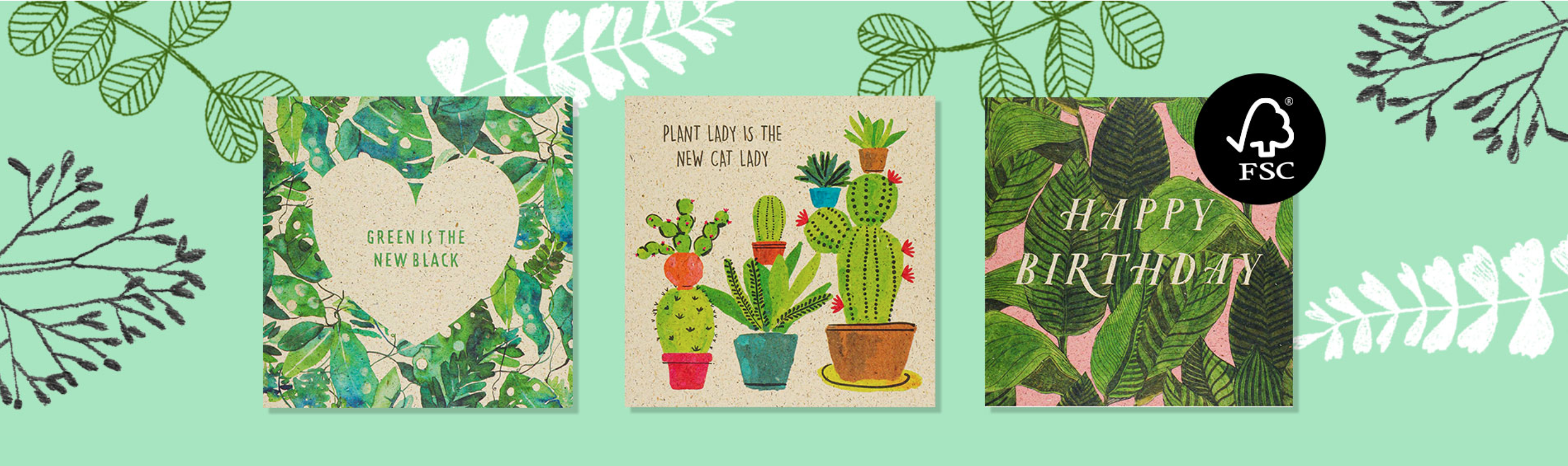 Above: A new series of eco icons will be used by Paperchase to explain the green credentials of its products.