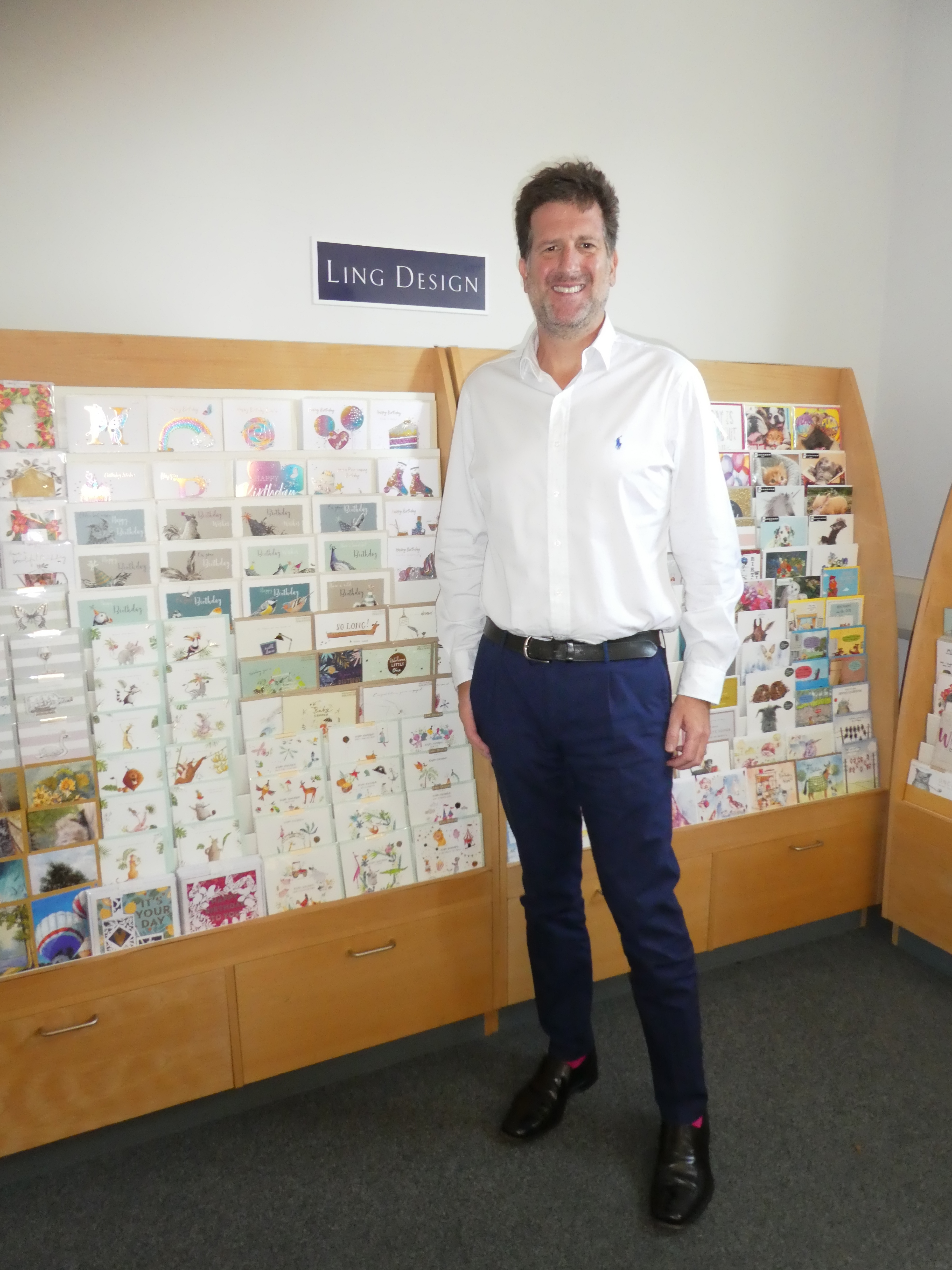 Above: David Byk, ceo of Ling felt he had to protect his established brand.