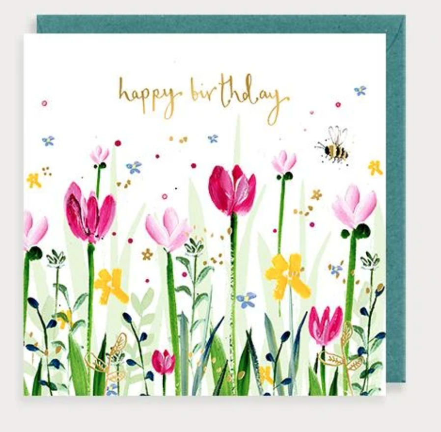 Above: One of the pretty designs from Louise Mulgrew's Flora range.