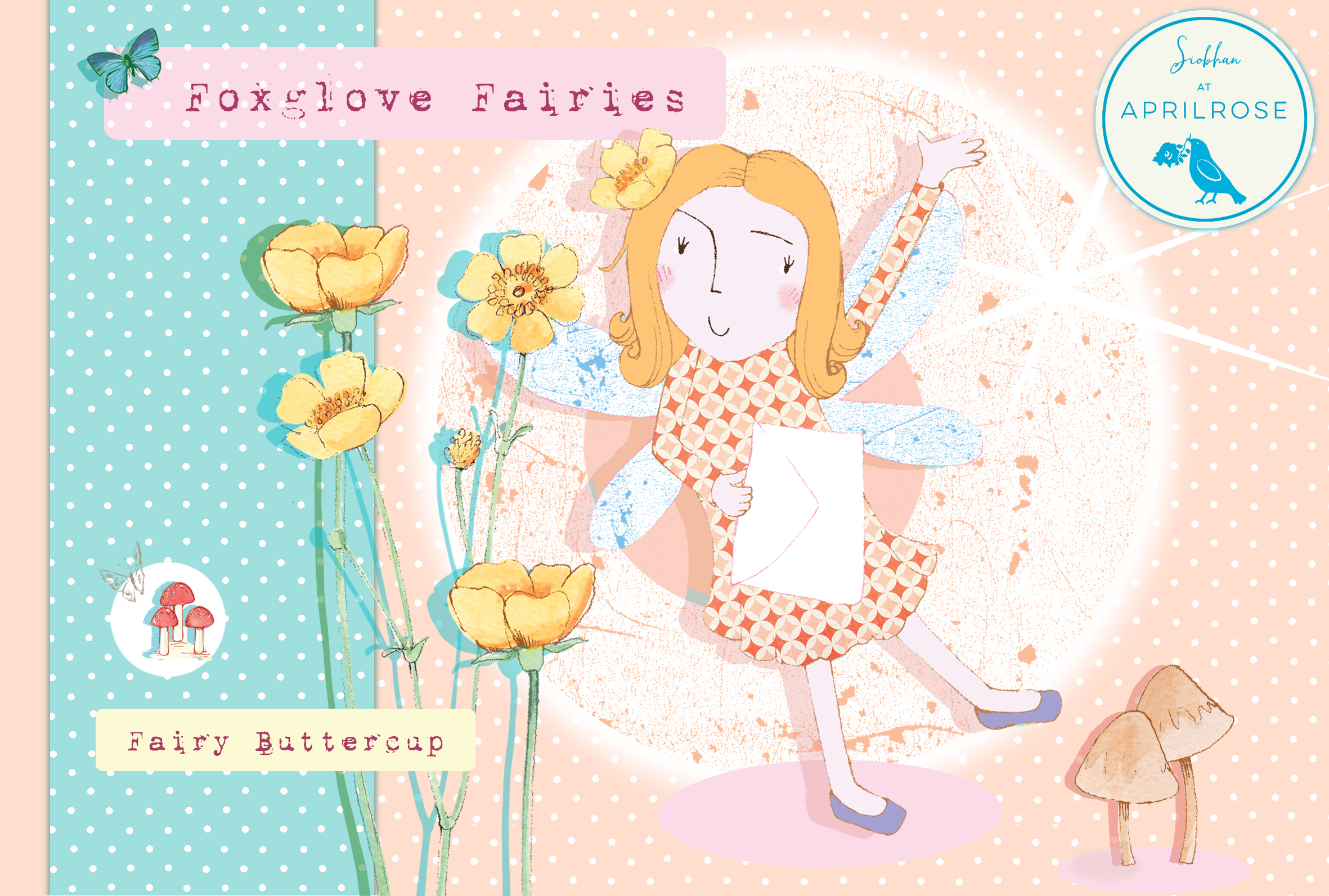 Above: One of the Foxglove Fairies, created by Siobhan Harrison.