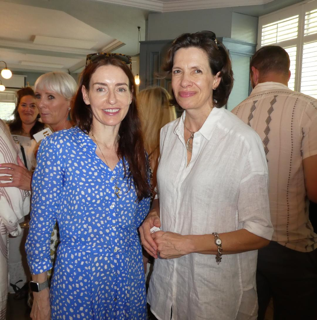 Above: (left) GCA president Rachel Hare (md of Belly Button) with Amanda Fergusson, ceo of the trade association.
