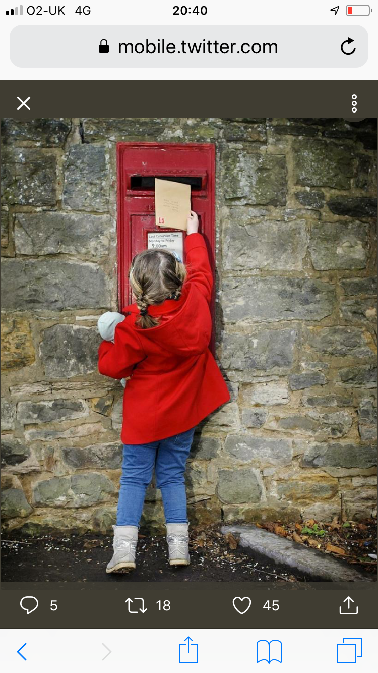 Above: By lobbying MPs, Royal Mail and Ofcom with the industry's concerns over postal delivery will help to ensure the card sending culture continues with the next generation.