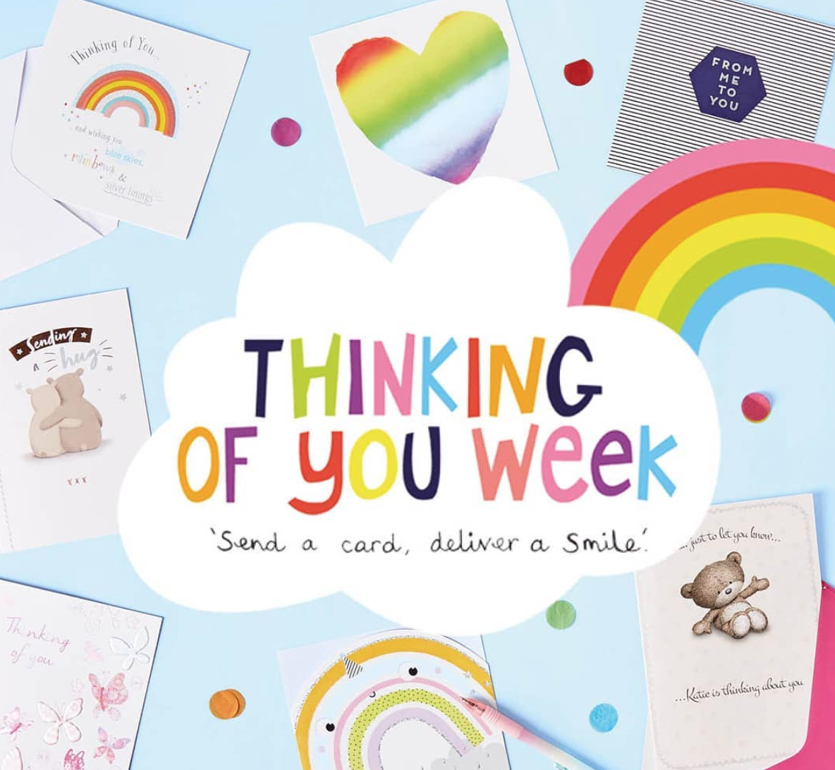 Above: Card Factory got behind Thinking of You Week this year, both instore (with dedicated PoS) and on social media.