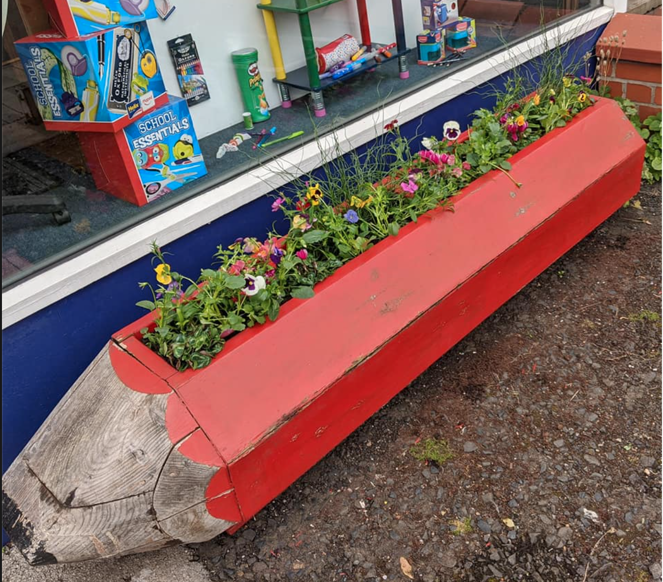 Above: A pencil planter will also be added outside the new Wilmslow store to add to the continuity between the two stores.