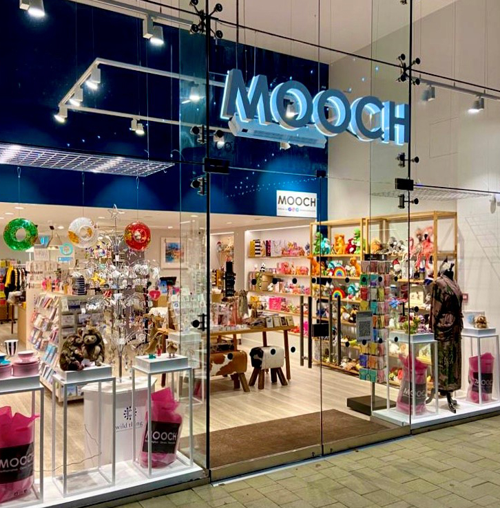 Above: The new Mooch store in Rushden Lakes, Northamptonshire.