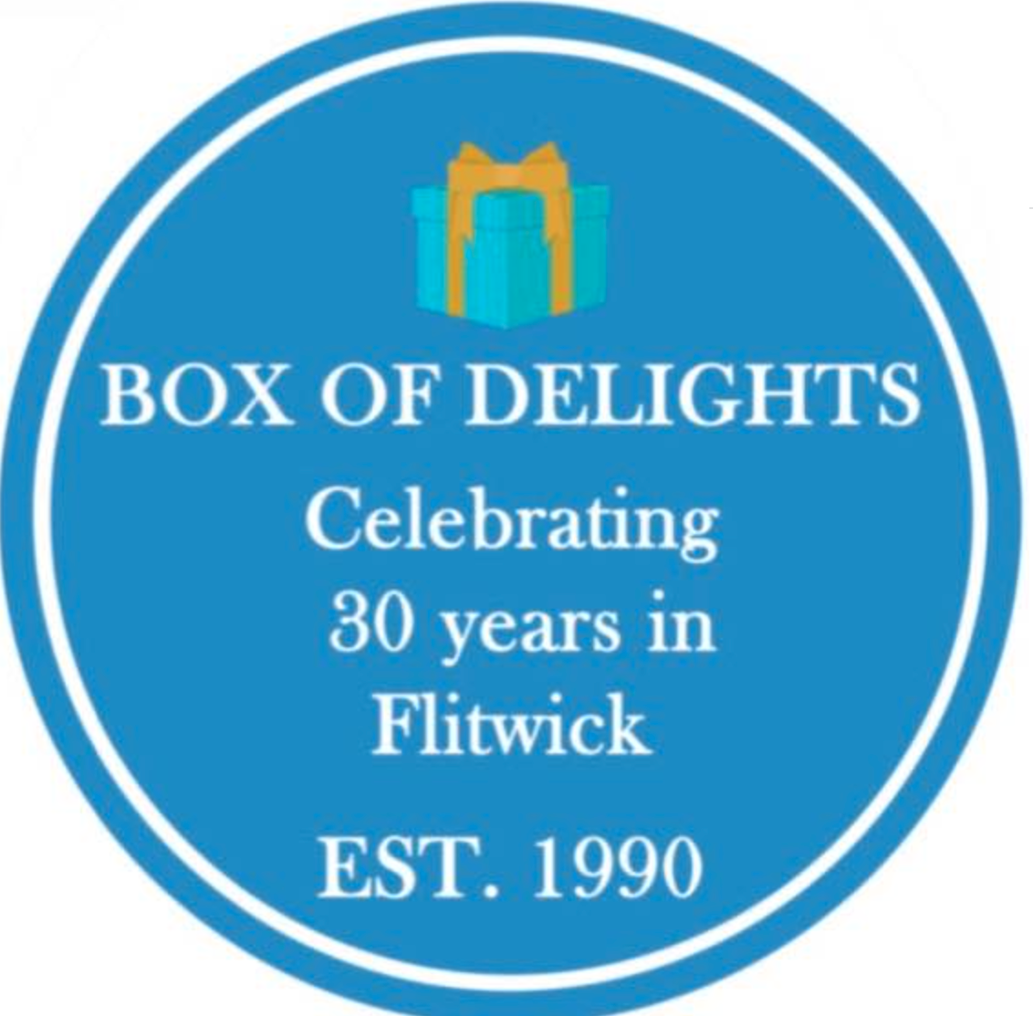 Above: Box of Delights is so much part of Flitwick life that it is worthy of a 'blue plaque'.