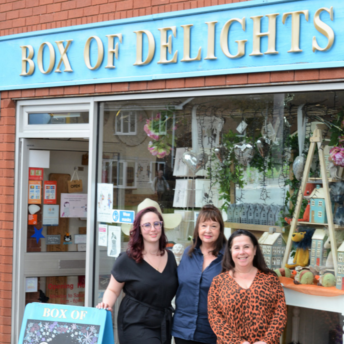 Above: The Flitwick retailer is now a three generation business.