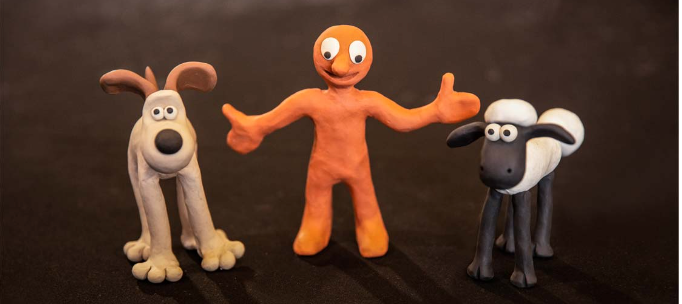 Above: Forming part of Festival of Licensing are three special live model making workshops run by Aardman Animations, to make a Shaun, Morph and Gromit.