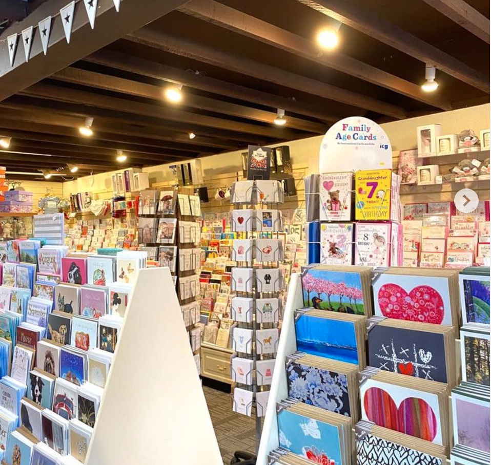Above: Northwood Cards is maintaining a strong everyday selection alongside its Christmas offering.
