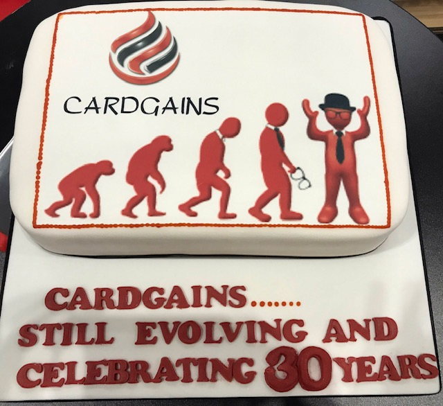 Above: This year Cardgains is celebrating its 30th anniversary and like its retail members, it continues to evolve.