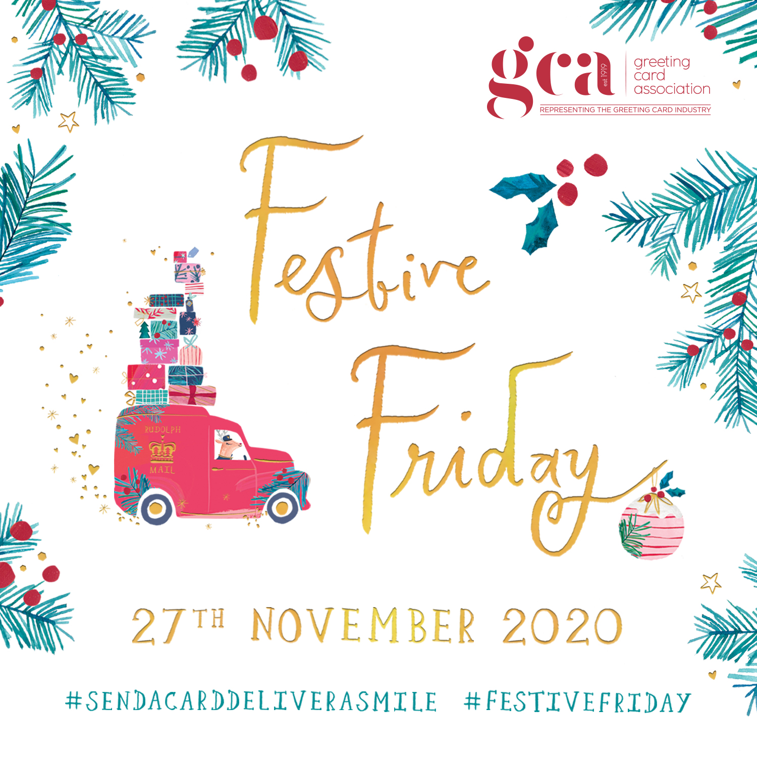 Above: The GCA website hosts a Festive Friday downloadable toolkit.