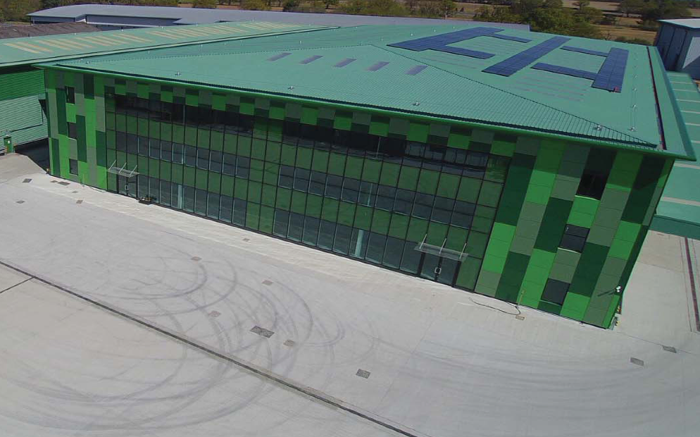 Above: The Imaging Centre's new HQ is 'green' in more ways than one!