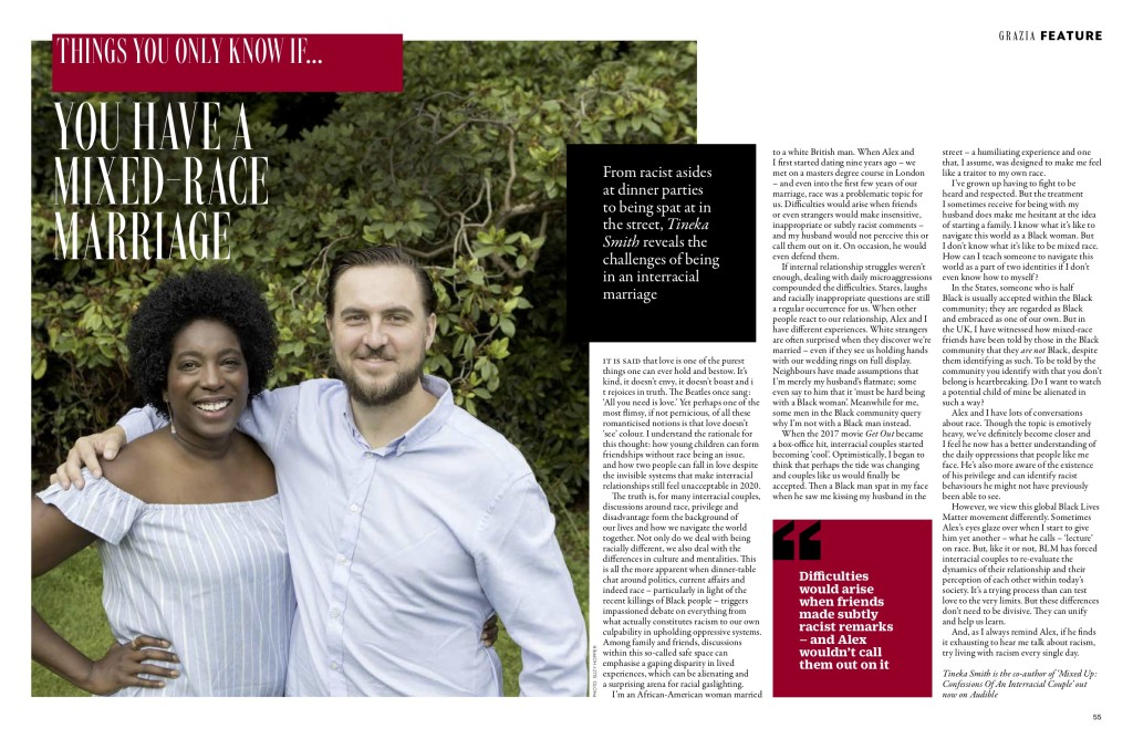 Above: Tineka and Alex's story and their message has achieved widespread media coverage.