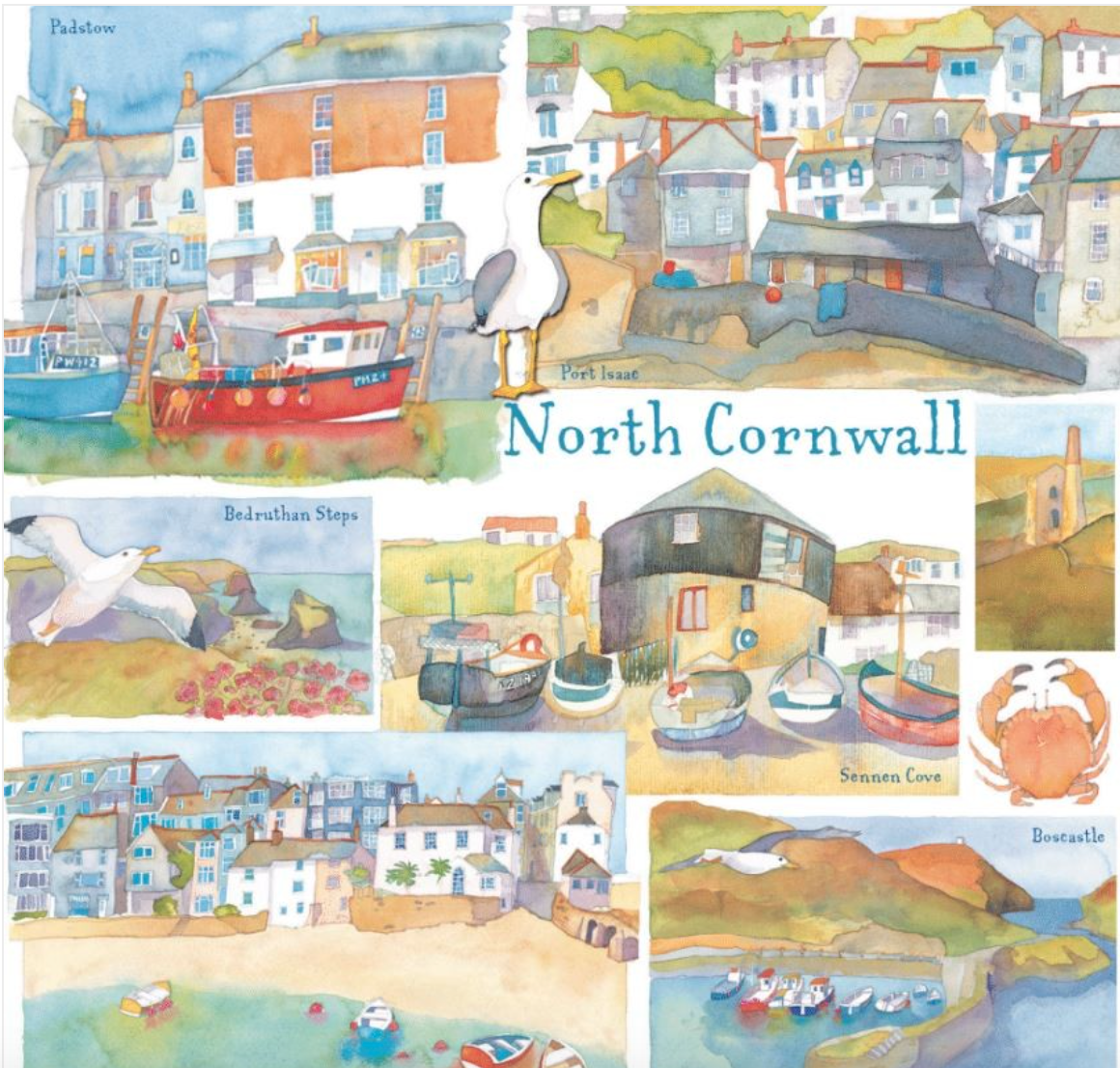 Above: Some Cornish flavour from Emma Ball.