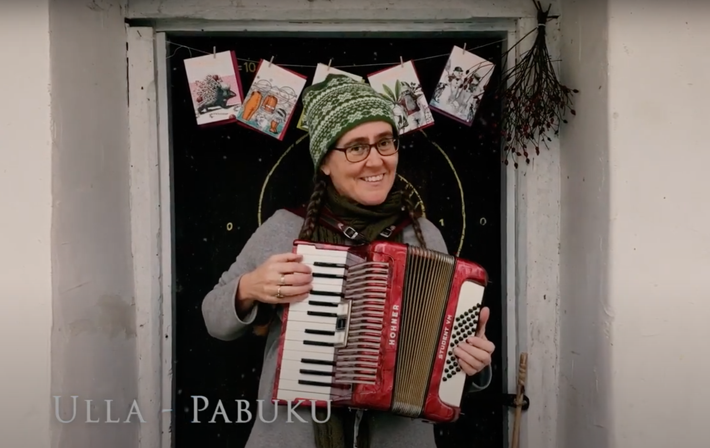 Above: Some extra musical accompaniment from Austria-based Ulla Klopf, co-owner of Pabuku.