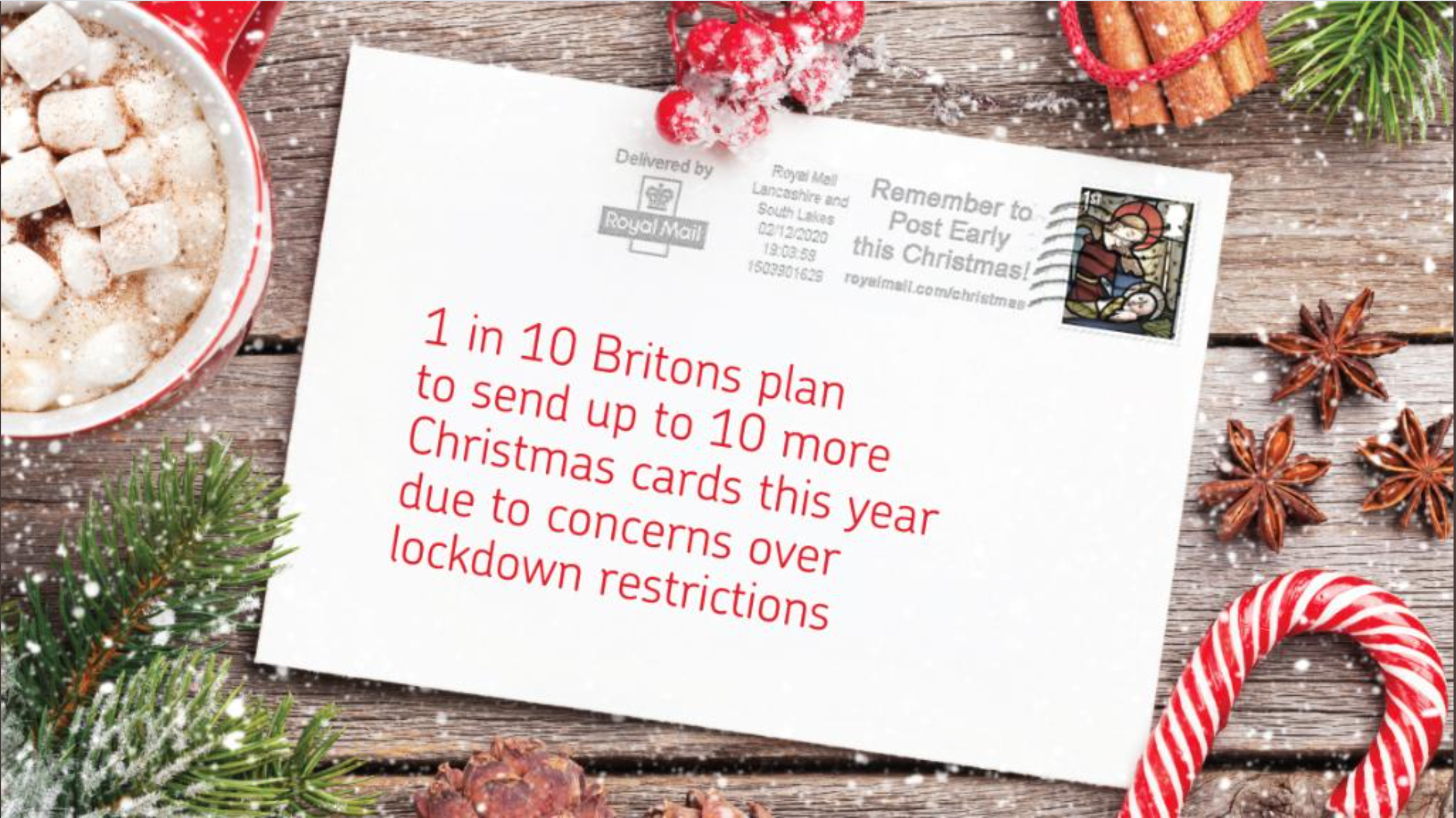 Above: Royal Mail's research delivered encouraging news to the greeting card industry.