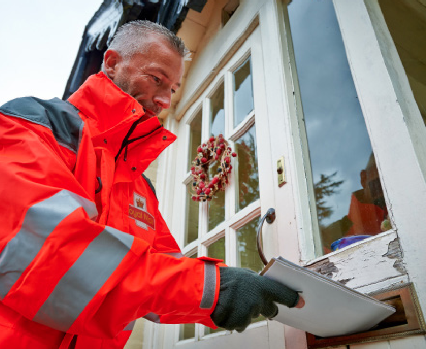 Above: The important thing for the card trade is that we safeguard an efficient postal service.