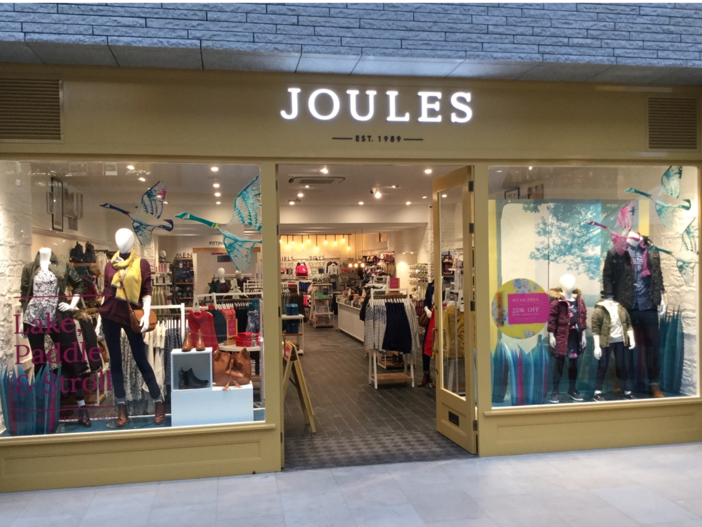 Above: Vicki pays tribute to retailer Joules for its broader business strategy.