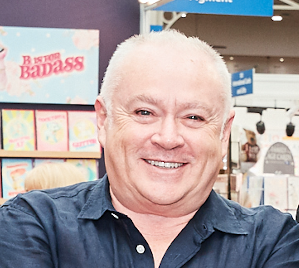 Above: Having parted company with Hallmark after many years, Martin Powderly joined Pigment in 2012, initially on a consultancy basis.